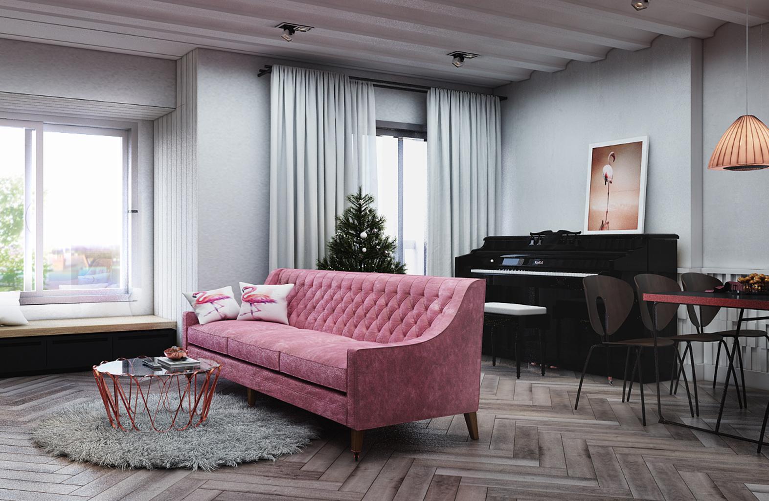 Thiết kế nội thất chung cư cư 65m2