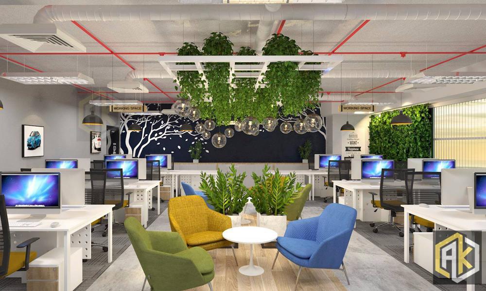Thiết kế nội thất - Văn phòng