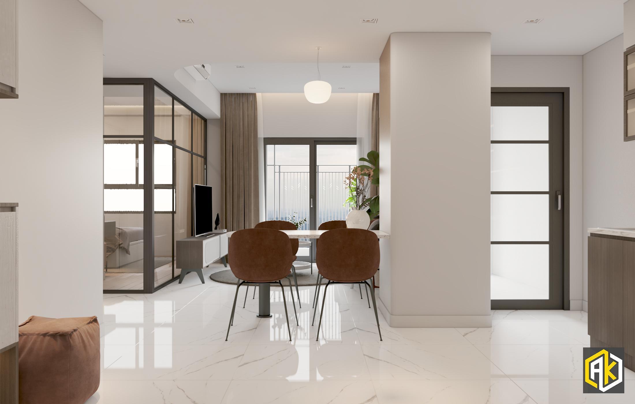 Thiết kế phòng khách đẹp mà đơn giản