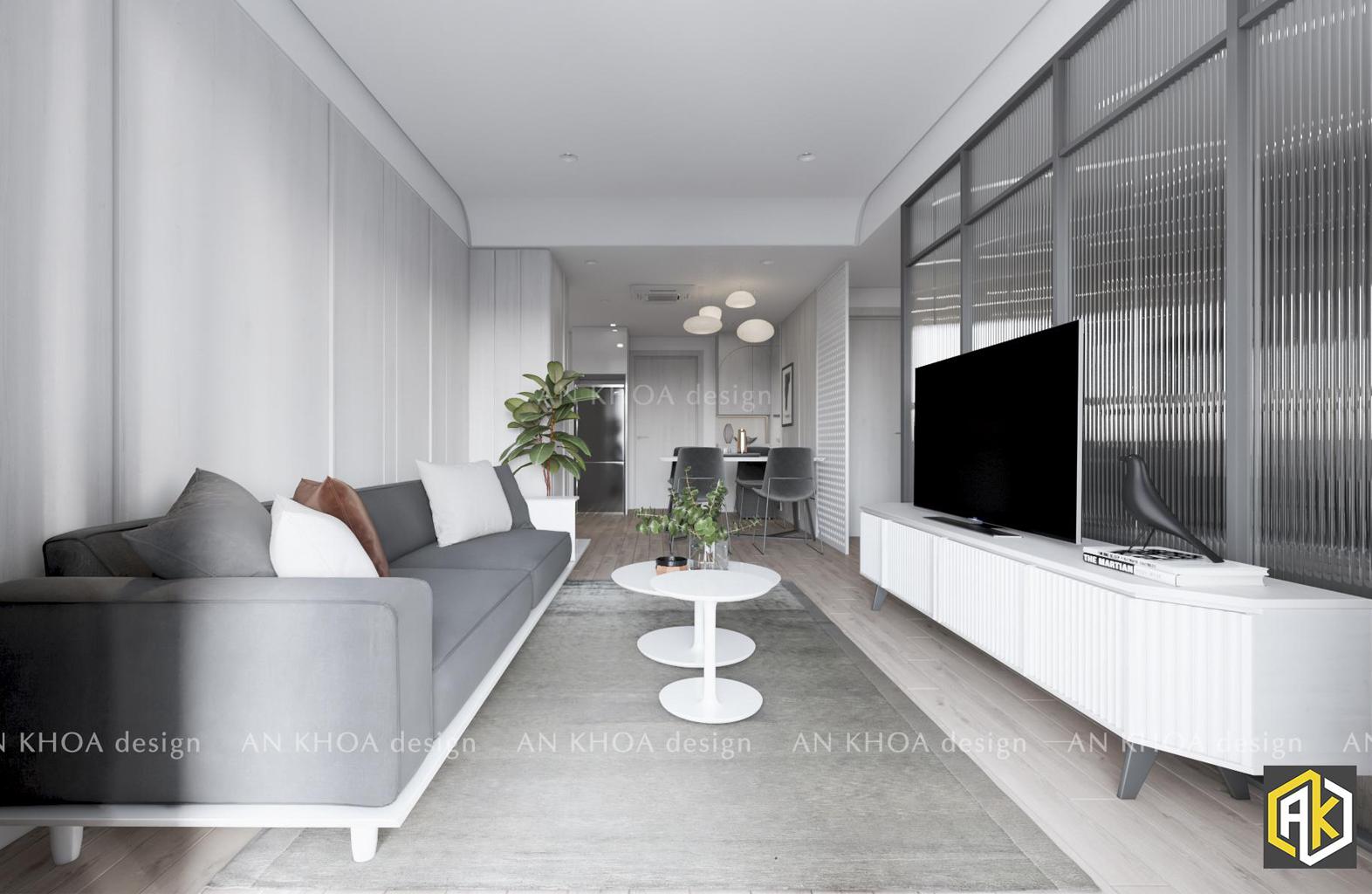 mẫu thiết kế phòng khách _ Sai Gon South